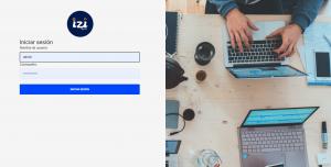 Pantalla de Inicio para los usuarios